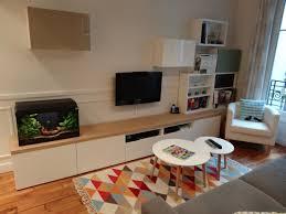 bureau sur mesure ikea meuble tv sur mesure en customisant des caissons besta ikea les