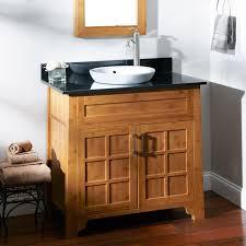 Bathroom Table Vanity by Bathroom Sink Bamboo Bath Furniture Bathroom Table Trough Sink