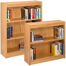 White Wood Bookcases by 15 Best Of Wooden Bookcases