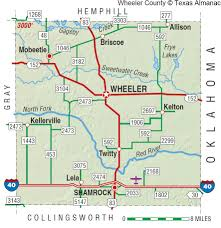 Sam Houston State University Map by Wheeler County The Handbook Of Texas Online Texas State