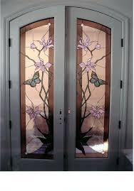 Glass For Front Door Panel by Best 25 Stained Glass Door Ideas On Pinterest Home Door Design