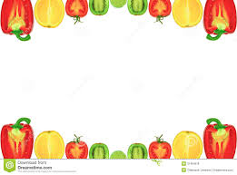 fruits and vegetables background clipart clipartxtras