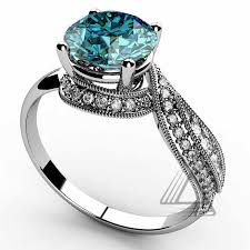 gemstone wedding rings unique swiss blue topaz gemstone wedding rings for women buy