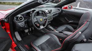 Ferrari California White With Red Interior - ferrari california t hs review and test drive with price