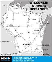 Door County Wisconsin Map by Road Trip Wisconsin U0027s Rustic Roads In Fall Moon Travel Guides