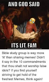 Meme Generator Raptor - and god said its lit fam download meme generator from