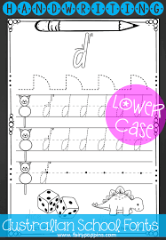 handwriting worksheets lower case letters in print and pre