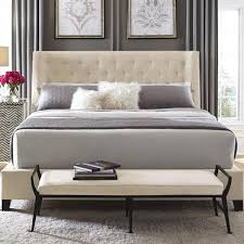 Upholstered Bedroom Furniture by Bernhardt Interiors Beds Maxime King Upholstered Bed With