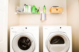 Laundry Room Storage Between Washer And Dryer by Avoid These Laundry Room Renovation Mistakes Angie U0027s List