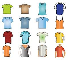 huge collection of t shirt design mockup templates