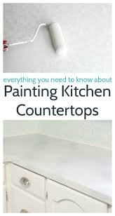 Paint Kitchen Countertops Painted Countertops Painting Your Countertops To Look Like Marble