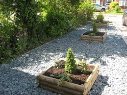 Family Garden Design Ideas Grey Slate Used To Complement Stunning Plants 40mm Grey Slate
