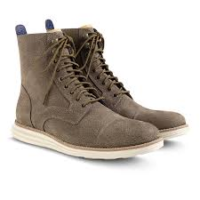 cole haan lunargrand lace boot in taupe waterproof my style