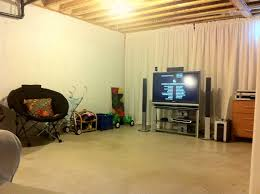 interior unfinished basement wall covering inside top innovative