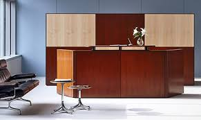Herman Miller Reception Desk Ethospace Systems Furniture Office Cubicles By Herman Miller