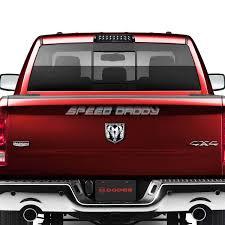 Dodge 1500 Truck Bed - black housing dual row led 3rd third brake cargo light for 09 16