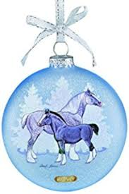 breyer winter stirrup ornament toys