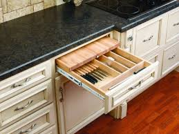 kitchen cabinet knife drawer organizers 4kcb series combination knife holder and cutting board for 24 base