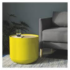 Habitat Side Table Blyth Yellow Storage Side Table Yellow Storage Storage And Clutter