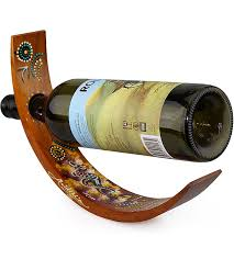 wood curved wine holder australia the gift souvenirs t