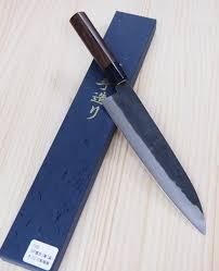 japanese chef gyuto knife kyusakichi zdp 189 steel kurouchi