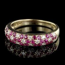 diamond flower rings images Le vian 18k yellow gold ruby and diamond flower ring long 39 s jewelers jpg