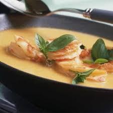 cuisine crevette recette soupe de crevette thaïe au lait de coco cuisine madame