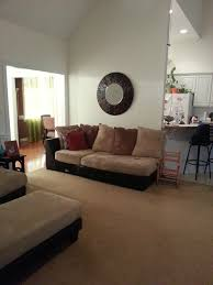 my futon sinks in the middle need help w furniture layout bedroom door in middle of living room