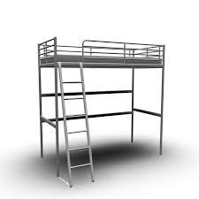 Ikea Bunk Bed Frame Tromsö Loft Bed Frame Design And Decorate Your Room In 3d