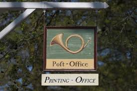 mail your cards from the colonial williamsburg post office