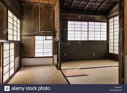 Japanese Temple Interior Traditional Windows Of A Japanese Temple Stock Photo Royalty Free