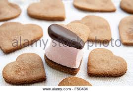 heart shaped crackers heart shaped cookies stock photos heart shaped cookies stock