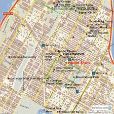 Harlem Map New York by Harlem Shake Hours And Directions