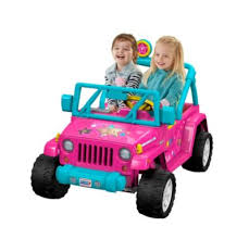 barbie jeep power wheels 90s power wheels vehicles for boys girls fisher price