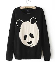 panda sweater sweater fe clothing store powered by storenvy