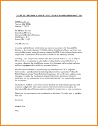 sample law cover letter attractive ideas legal cover letter