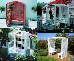 Lattice Pergola Roof by 45 Garden Arbor Bench Design Ideas U0026 Diy Kits You Can Build Over