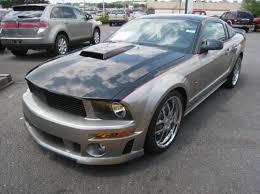 Black 2009 Mustang 2009 Roush Mustang