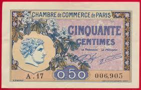 chambre de commerce lons le saunier lons le saunier 1 franc remboursement 1922 fdcollector