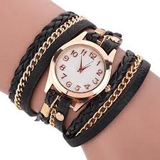 hand wrist bracelet images Hosaire hand woven wrapped bracelet women watch ladies quartz jpg