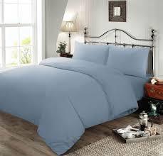 nimsay home plain dyed soft cotton blend quilt duvet cover bed