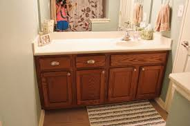 the chronicles of ruthie hart naptime diy painting bathroom cabinets