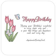 happy birthday animated butterfly card my animated greeting cards
