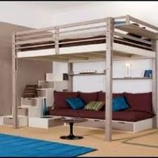 Free Plans For Full Size Loft Bed by Loft Bed Couch U0026 Desk King Size Lofts And Desks
