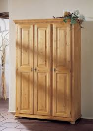 Schlafzimmer Antik Massiv Kleiderschrank Schrank Fichte Massiv Mediterran Romantik Landhaus
