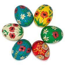 wooden easter eggs wooden easter eggs ebay