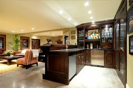 classy in home bars design ideas with black bar chairs home