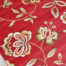 10 X 8 Area Rug Delectably Yours City Flora Times Claret Floral Area Rug