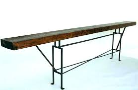 8 foot long table 8 foot long console table sofa console table tutorial 8 long console