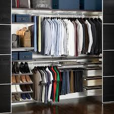 Ideas Rubbermaid Fasttrack Lowes Elfa Elfa Closet Systems Closet After Elfa Closet System Lowes Closet